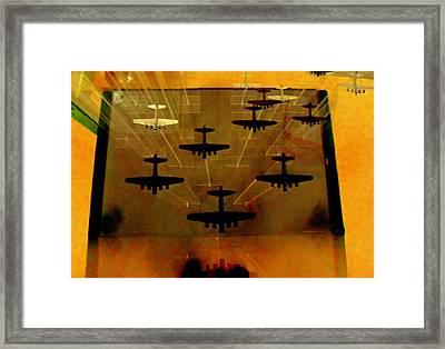Air War Framed Print by Randall Weidner