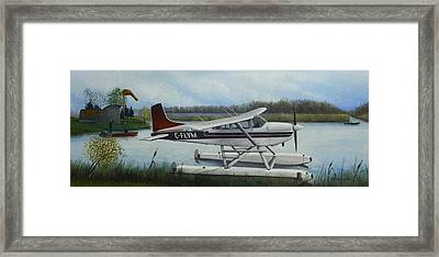 Air Waves Framed Print