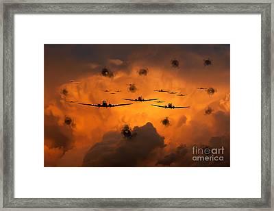 Airborne Invasion  Framed Print