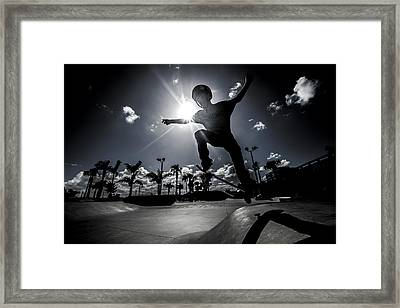 Airbound Framed Print