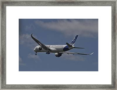Airbus A350 Framed Print