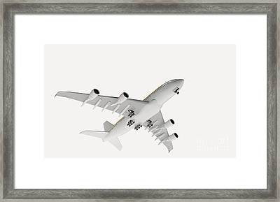 Airbus Flying Framed Print by Nikid Design Ltd / Dorling Kindersley
