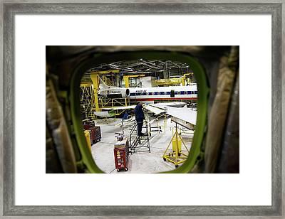 Aircraft Maintenance Framed Print