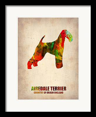 Airedale Terrier Framed Prints