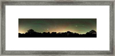 Airglow Framed Print by Luis Argerich