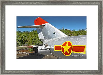 Airplane - 14 Framed Print by Gregory Dyer
