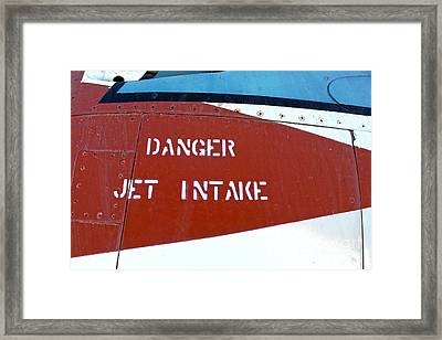 Airplane - 18 Framed Print by Gregory Dyer