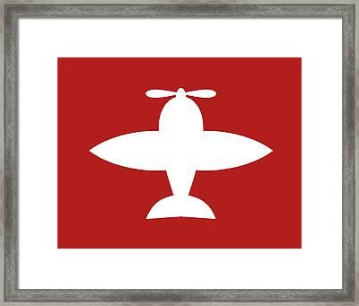 Airplane 1 Framed Print