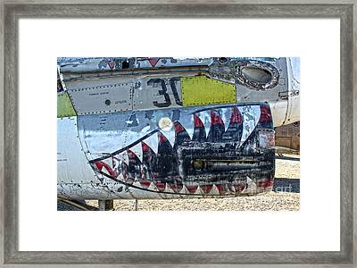 Airplane Graveyard - 06 Framed Print by Gregory Dyer