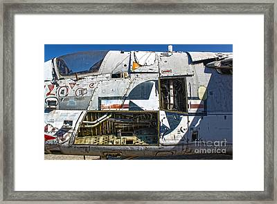 Airplane Graveyard - 07 Framed Print by Gregory Dyer