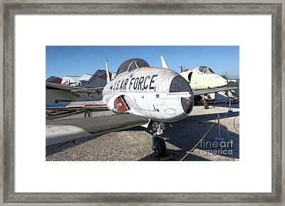 Airplane Graveyard - 09 Framed Print by Gregory Dyer