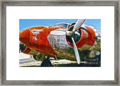 Airplane Graveyard - 21 Framed Print by Gregory Dyer