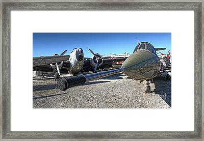 Airplane Graveyard - 03 Framed Print by Gregory Dyer