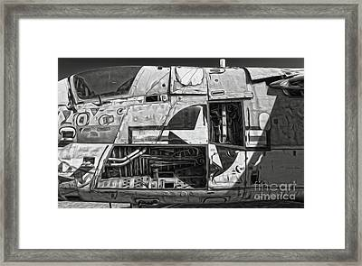 Airplane Graveyard - 08 Framed Print by Gregory Dyer
