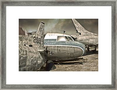 Airplane Graveyard Framed Print by Gregory Dyer