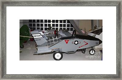 Airplane Peddle Cars Framed Print by Steven Parker