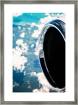 Tropical Skies Framed Print