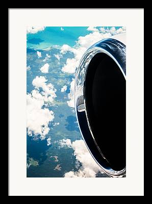 Jet Engines Framed Prints