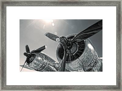 Airplane Propeller - 03 Framed Print by Gregory Dyer
