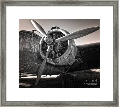Airplane Propeller - 05 Framed Print by Gregory Dyer