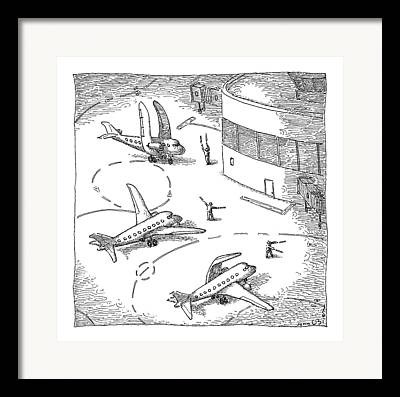 Air Traffic Controllers Framed Prints