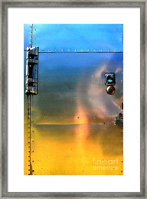 Airstream Sunset Framed Print
