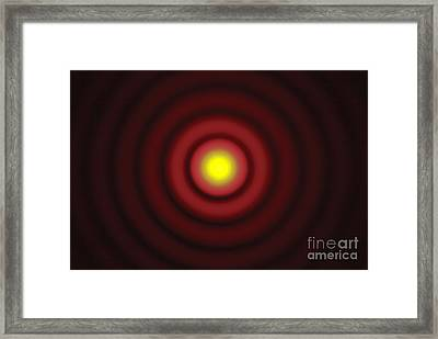 Airy Disk, 1 Of 2 Framed Print by GIPhotoStock