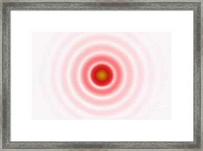 Airy Disk Framed Print by GIPhotoStock