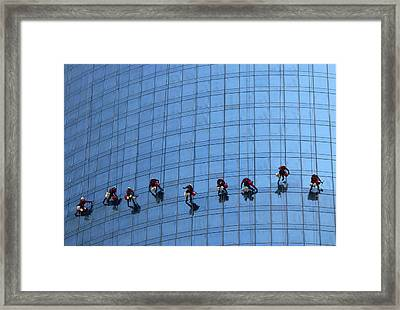Airy Workplace Framed Print