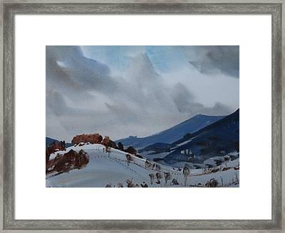 Airyhill Framed Print by Len Stomski