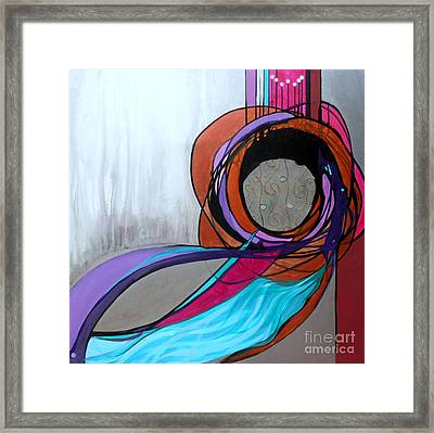 Aishet Chayil Woman Of Valor Framed Print