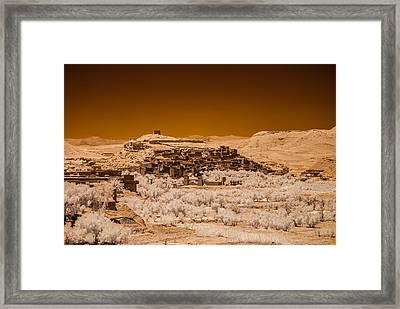 Ait Benhaddou Framed Print