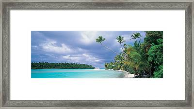 Aitutak Cook Islands New Zealand Framed Print by Panoramic Images