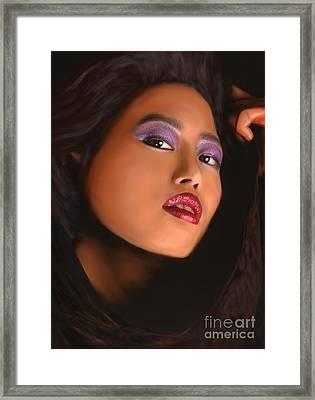 Aiya Framed Print by Jeff Breiman