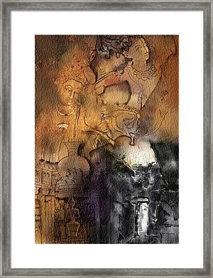 Ajantha Framed Print by Nm