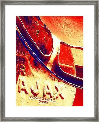 Ajax Framed Print by Wendy J St Christopher
