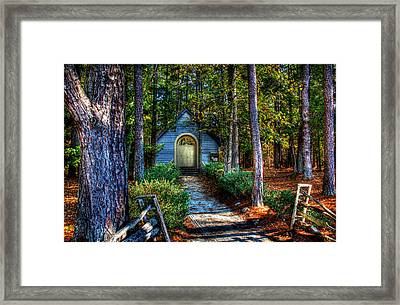 Ajsp Chapel Framed Print by Andy Lawless