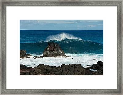 Akahange Wave Framed Print