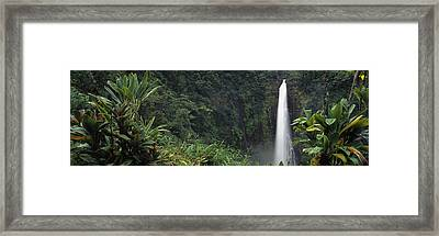 Akaka Falls State Park, Hawaii, Usa Framed Print