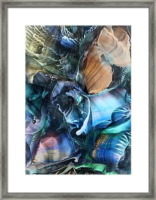 Akashic Memories From Subsurface Framed Print by Cristina Handrabur