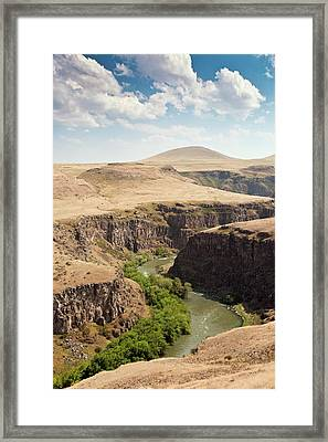 Akhurian River Framed Print by Bob Gibbons