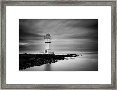 Akranes Lighthouse Framed Print