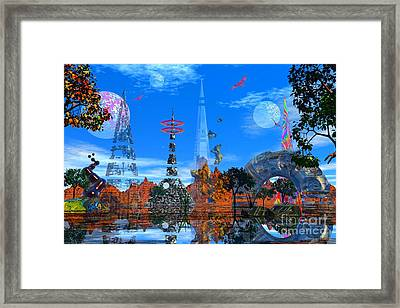 Framed Print featuring the photograph Akrubaar by Mark Blauhoefer