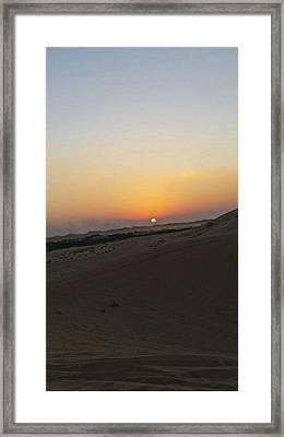 Al Ain Desert 20 Framed Print