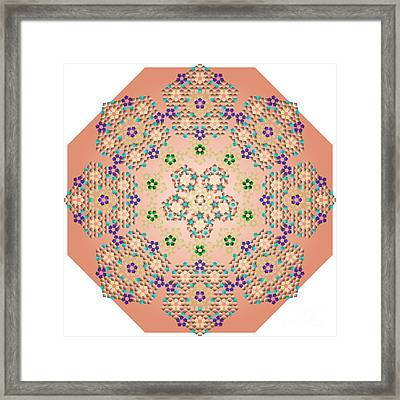 al Arkan Star Framed Print