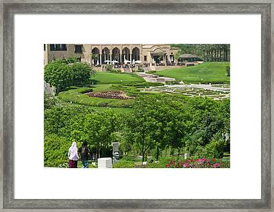 Al Azhar Park, Cairo, Egypt, North Framed Print