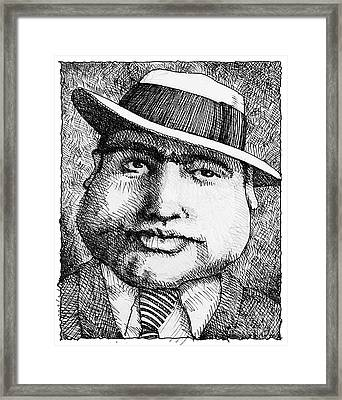 Al Capone 1931 Framed Print