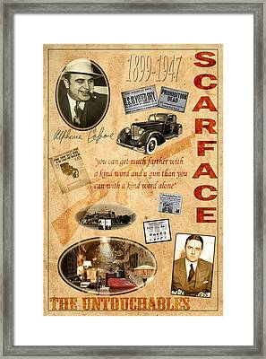 Al Capone Framed Print by Andrew Fare