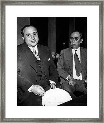 Al Capone Gangster Framed Print by Retro Images Archive