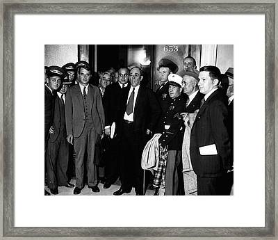 Al Capone Mob Boss Framed Print by Retro Images Archive